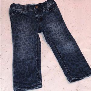 BabyGap 18-24 Months Skinny Fit Leopard Print Jean